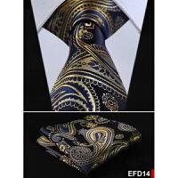 花纹时尚结婚职业潮男tie 英伦欧美风领带方巾口袋巾EFD