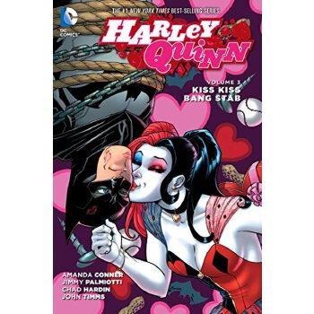 【现货】英文原版Harley Quinn Vol. 3: Kiss Kiss Bang Stab 哈雷奎因卷3