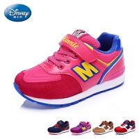 迪士尼新款中童慢跑鞋 儿童撞色运动休闲鞋DS2091