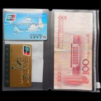纵横新品旅行者笔记本随身款内芯票据袋名片收纳袋特价满包邮