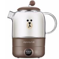 九阳(Joyoung)Line养生壶煮茶器煮茶壶电水壶热水壶烧水壶迷你玻璃家用K08-D601 棕色(布朗熊)