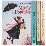 【中商原版】欢乐满人间4册套装 英文原版 科幻文学小说书籍 Mary Poppins Boxed Set Harcou