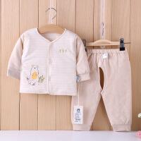 小象逗叮 婴儿纯棉保暖套装 宝宝棉衣裤两件套 儿童棉袄外出服