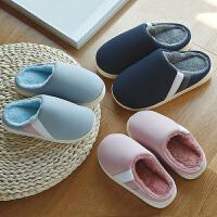 儿童拖鞋冬秋冬新款男童家居室内女童居家棉拖亲子加厚