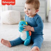 费雪安抚小海马玩具宝宝早教音乐胎教婴儿玩偶新生儿玩具新版正品