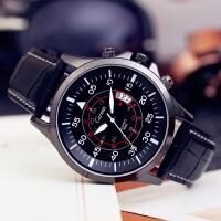 手表男士时尚学生男表潮流简约石英表手表