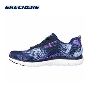 skechers斯凯奇女鞋 一脚蹬轻质舒适健步 运动休闲鞋 12754