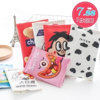韩国文具笔盒男女生简约零食文具袋创意学生大容量韩版铅笔袋