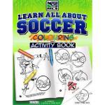 【预订】Learn All about Soccer: Color and Activity