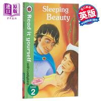 【中商原版】小飘虫独立阅读系列:睡美人Sleeping Beauty 独立阅读 分级读物 亲子绘本 故事书 4~7岁 精