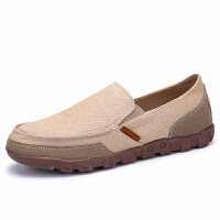 DAZED CONFUSED帆布鞋老北京布鞋男士套脚鞋休闲男鞋防臭懒人鞋鞋45 46 47
