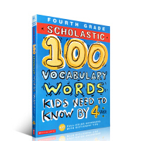 四年级学生 英文原版学乐100 Words Kids Need To Read By 4Rd Grade Workbo