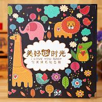婴儿童创意日记本制作 宝宝相册影集成长记录纪念册diy手工出生