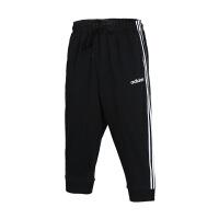 adidas/阿迪达斯男款2019夏季新款宽松透气休闲短裤七分裤DDU7824