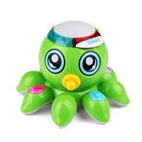 智能章鱼灯光电动音乐玩具 1-3岁男女宝宝礼物儿童玩具