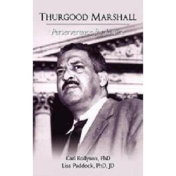 【预订】Thurgood Marshall: Perserverance for Justice 美国库房发货,通常付款后3-5周到货!