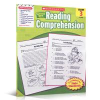 英文原版 Scholastic Success with Reading Comprehension (Grade 3