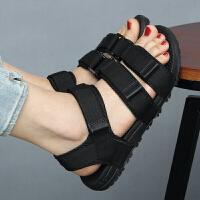 韩版女士凉鞋夏季运动休闲越南女鞋防滑情侣鞋沙滩鞋