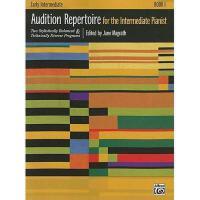 【预订】Audition Repertoire for the Intermediate Pianist