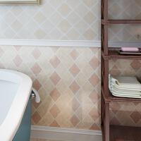 卫生间墙贴阳台壁纸马赛克仿瓷砖纹贴纸防水自粘墙纸厨房防油浴室