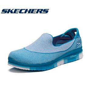 【11月12-13日大牌返场 狂欢继续】Skechers斯凯奇女鞋健步鞋轻便钢琴底套脚运动鞋一脚蹬女款14010C