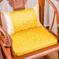 仿古红木沙发坐垫实木中式家具座垫官帽皇宫圈椅海绵加厚棕垫套装