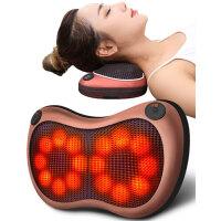 璐瑶肩颈椎按摩器颈部腰部肩部全身车载电动仪枕头多功能靠垫家用 *送健康!