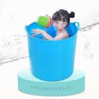 婴儿浴盆澡盆 家用大号厚儿童洗澡桶宝宝浴桶泡澡桶塑料沐浴桶