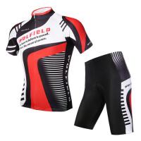 短袖骑行服套装男 夏季山地车自行车透气速干单车服