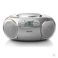 包邮 飞利浦(PHILIPS)AZ127/93 CD机 便携式磁带机 cd播放器 卡带机 学习机 胎教机 收录机 收音机 手提音响