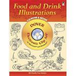 【预订】Food and Drink Illustrations CD-ROM and Book [With