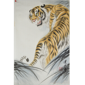 王建民《虎》68*45cm