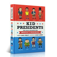英文原版 美国总统 童年趣事 全彩漫画 Kid Presidents: True Tales of Childhood