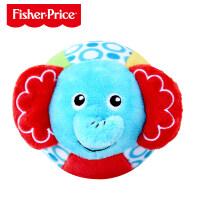 费雪宝宝手摇铃布球早教手抓球室内新生婴儿童球类玩具0-1岁儿童节礼物