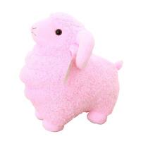 毛绒公仔礼物送女生 小羊毛绒玩具 吉祥物生肖羊毛绒玩具超可爱小绵羊公仔大号女孩趴趴抱枕布娃娃