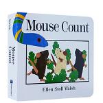 英文原版 Mouse Count 数老鼠 纸板书 吴敏兰绘本123 少儿儿童绘本 廖彩杏推荐书单