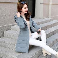 女中长款冬装显瘦韩版棉衣加厚保暖工装棉袄外套