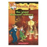 英文原版 老鼠记者特别版:圣诞节灾难 Geronimo Stilton #44:The Giant Diamond R