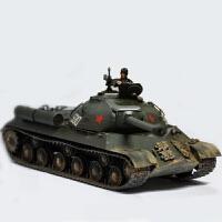 拼装军事模型 仿真1/35 坦克世界斯大林IS-3M手工玩具 (需要自己拼装) +胶水