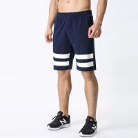 运动短裤男夏季五分裤针织纯棉休闲透气篮球短裤薄款短裤运动跑步中裤