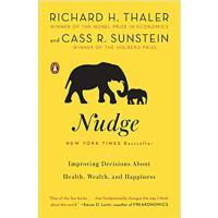 【现货】英文原版 助推  Richard H. Thaler: Nudge 如何做出有关健康、财富与幸福的决策2017年诺贝尔经济学奖得主理查德・泰勒作品