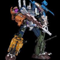 男孩模型玩具 变形玩具金刚机器人混天豹大力神坦克直升机合体儿童