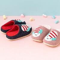 儿童拖鞋女居家地板拖鞋可爱毛毛拖鞋防滑室内鞋宝宝家居鞋3岁6