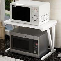 微波炉置物架厨房调味料架2层收纳架烤箱架子双层储物架厨房用品
