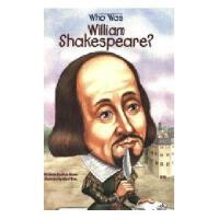 【现货】英文原版 Who Was William Shakespeare? 威廉・莎士比亚是谁? 名人传记 中小学生读物
