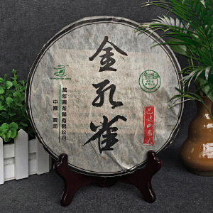 【7片】2008年云南勐海(巴达山乔木茶-金孔雀)臻藏普洱生茶 357g/片