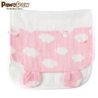 【1件3折 到手价:17】Pawinpaw卡通小熊童装男女宝宝款卡通小耳朵汗巾