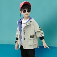 木木屋男童春装外套2021新款儿童装中大童风衣韩版春夏季男孩洋气潮上衣