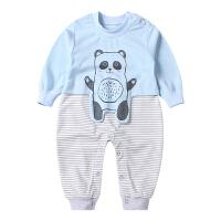 婴儿爬爬服宝宝长袖连体衣薄款长袖宝宝秋装