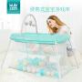 KUB 可优比 轻便游戏床 便携式折叠婴儿床儿童游戏围栏多功能宝宝旅行床游戏床